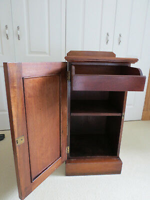 Antique Mahogany Pot Cupboard POSSIBLE LOCAL DELIVERY