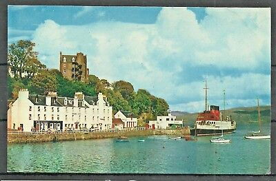Postcard  : Isle of Mull Steamer King George V at the Pier