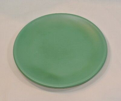 CATALINA ISLAND Pottery Green Salad Plate Vintage 8 3/8 inches