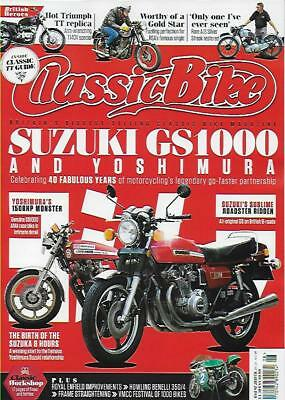 CLASSIC BIKE MAGAZINE-August 2018 Issue- (NEW)*Post included to UK/Europe/USA