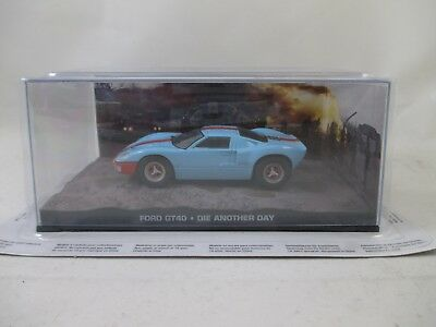 Eaglemoss - James Bond 007 Collection - Ausgabe 52 - Ford GT 40  OVP