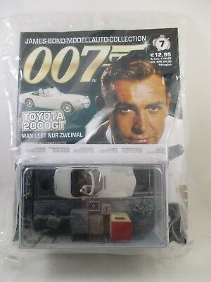 Eaglemoss - James Bond 007 Collection - Ausgabe 7 - Toyota 2000 GT - Neu / OVP