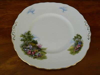 Royal Vale 'cottage Garden' Bread & Butter/cake Plate
