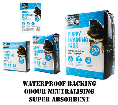 Large Super Ultra Absorbent Pet Dog PUPPY TRAINING PADS Doggy Poop Bag Toilet