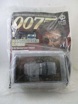 Eaglemoss - James Bond 007 Collection - Ausgabe 79 - Range Rover Sport NEU / OVP