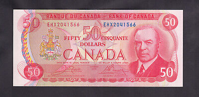 1975 Canada 50 Dollars Replacement Bank Note