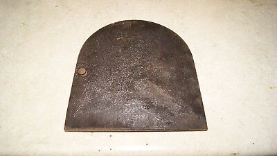 Gilbert Clock Case Back Cover Used Mantel / Shelf Clock Parts