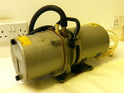 Edwards Speedivac Vacuum Pump -  Working