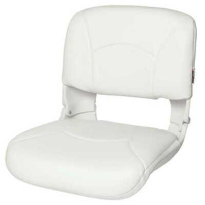 Tempress 45616 All-Weather High-Back White Boat Seat Marine Seating
