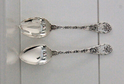 Dauphin by Durgin-Gorham Sterling Silver 2 Piece Salad Serving Set (Gorham)