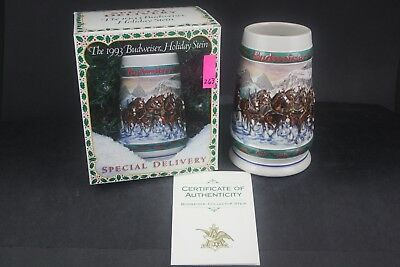 1993 Budweiser Special Delivery Holiday Stein Special Issue (263)