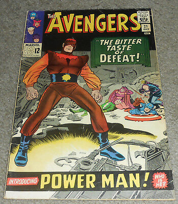#21 The Avengers Introducing Power Man 1965