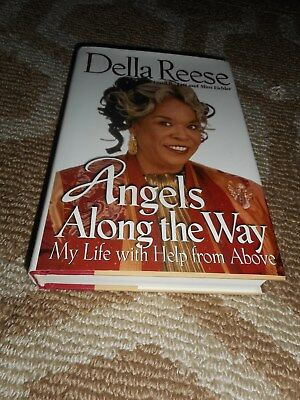 Della Reese Signed Book TO MICHAEL MIKE Angels Along the Way Autograph Celebrity