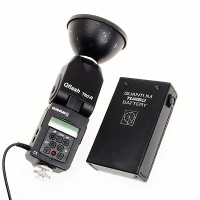 Quantum Q Flash T5D-R with Turbo Battery Pack Portable Strobe