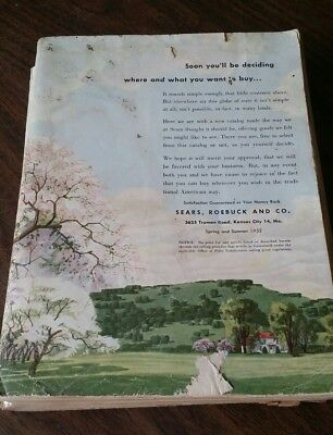 1952 Sears Roebuck and Co. Spring & Summer Catalog