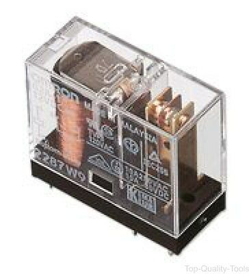 Omron Electronic Components, G2Rk25Dc, Relay, Dpdt, 3A, Latching, 5V