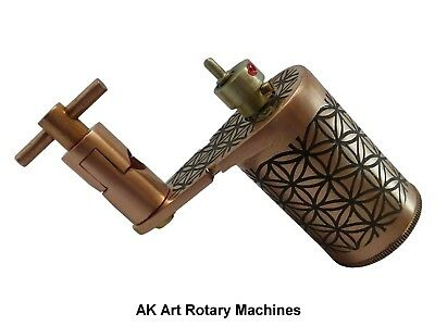 AK ART ROTARY - ZEPHYR - COPPER - FLOWER of LIFE - RCA -  4.2mm STROKE