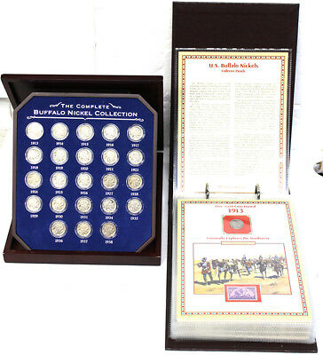 Two Complete Buffalo Nickel Collections A Must See LOOK!!!