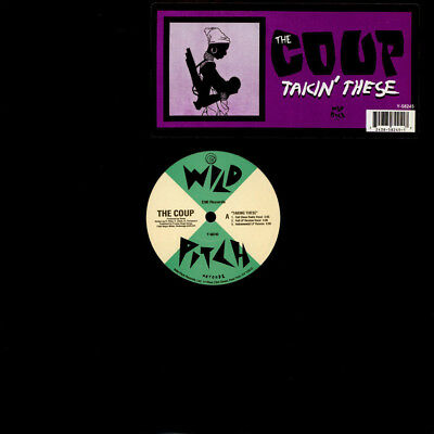 """The Coup - Takin' These (Vinyl 12"""" - 1994 - US - Original)"""