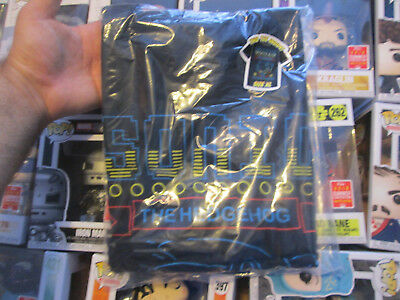 89e8ef836 FUNKO POP TEES T-Shirt Size Xl Sonic The Hedgehog Gamestop Sealed ...