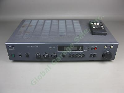 Vtg NAD 701 Pre Amplifier Stereo FM Receiver Phono Parts/Repair WITH REMOTE Lot