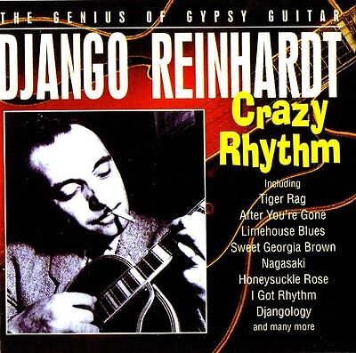 "♫♫ Django Reinhardt ""Crazy Rhythm ""The Genius Of Gypsy Guitar"