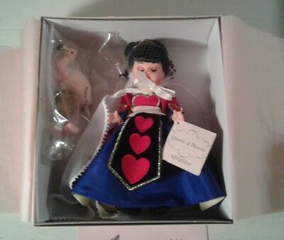 """Madame Alexander 8"""" Doll Queen of Hearts #38410 New In Box"""