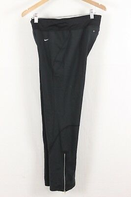 Nike Womens Black Cold Weather Fit Dry Thermal Athletic Pants Size Large