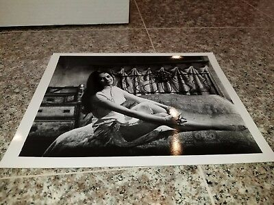 Vintage 8 X 10 Photograph From Irving Klaws Archives Of Nancy Kwan Lot #1