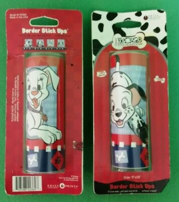 "Set Of 2 - 102 Dalmatians Peel N Stick Wall Border 5"" X 15' Each - NIP"