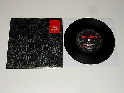 """Alice In Chains - 7"""" Single - Angry Chair - 1993 - SNAKESKIN WALLET"""