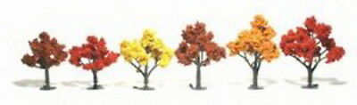 "Woodland Scenics TR1541 3""-5"" Colorful Fall Model Tress (6) - Ready to use"