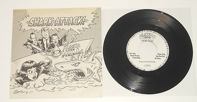 """Private German Psychobilly 7"""" EP - Aloha From Hell - Shark Attack! - DE 1997"""