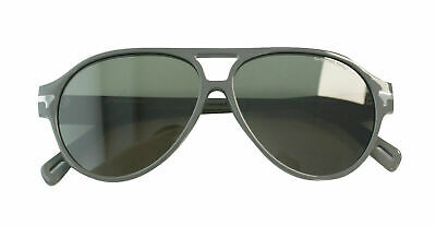 G- Star Raw Thin Sniper Matte Grey Acetate Mens UV Shades Sunglasses GS608S 035