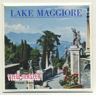 Lake Maggiore Italy ViewMaster Packet C-045-E English Edition