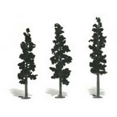 "Woodland Scenics TR1113 2-1/2""-6"" Forest Green Pine Model Trees Kit (24)"