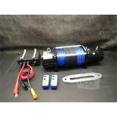 X-Bull  12V Synthetic Rope Electric Winch 13000 lb.Load Capacity*