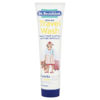Dr. Beckmann Non Bio Travel Wash Liquid Soap Holiday Camping Laundry Clothes