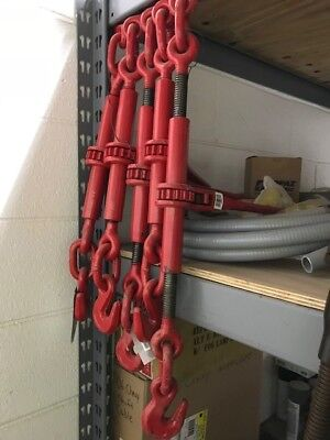 """""""new"""" -Lot Of 5 -Ultra-Tow Ratchet Chain Binders  1/2""""  - Pick Up Only"""