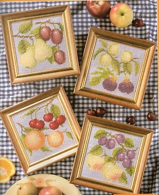Needlepoint/Tapestry charts. Fruit panels by Sue Page