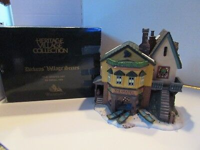 Dept 56 57534 The Grapes Inn 5Th Edition 1996  Dickens Village Lighted Building