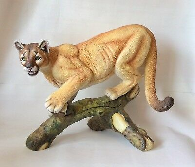 Limited Edition Connoisseur of Malvern Large Cat Puma Ashenden excellent c 1988