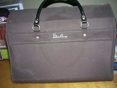 vintage bag for a Silver Cross coach built pram [used] colour brown
