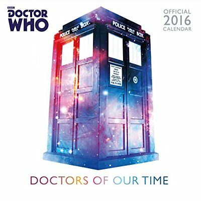 Official Doctor Who Classic Edition 2016 Square Wall Calendar (BBC ... by Danilo