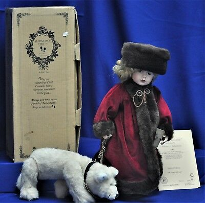 The Boyds Collection The Yesterdays Child Doll Collection Lara 4907 3747/12000