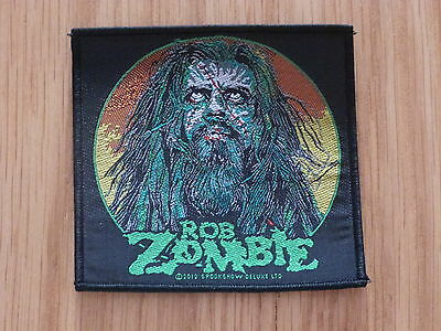 Rob Zombie - Zombie Face (New) Sew On Patch Official Band Merchandise