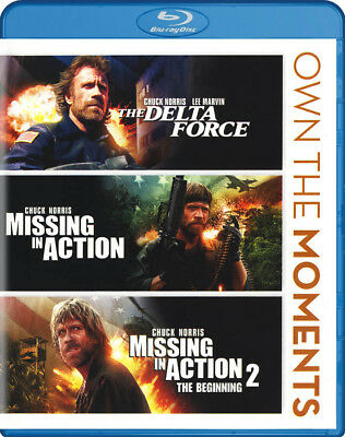The Delta Force / Missing In Action / Missing In Action 2-The Beginnin (Blu-Ray)