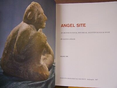 """Unused First Edition Two Volume Set Of """"angel Site"""" By Glenn Black, 1967"""