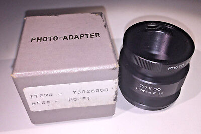 Spotting scope adapters for M42 camera bodies onto standard eyepiece mount