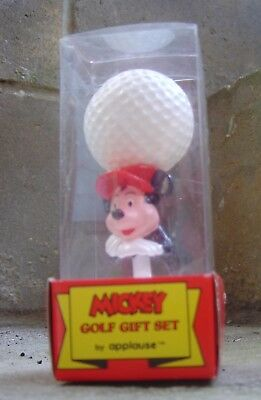 Vintage Mickey Golf Gift Set From Applause